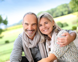 Image: smiling older couple